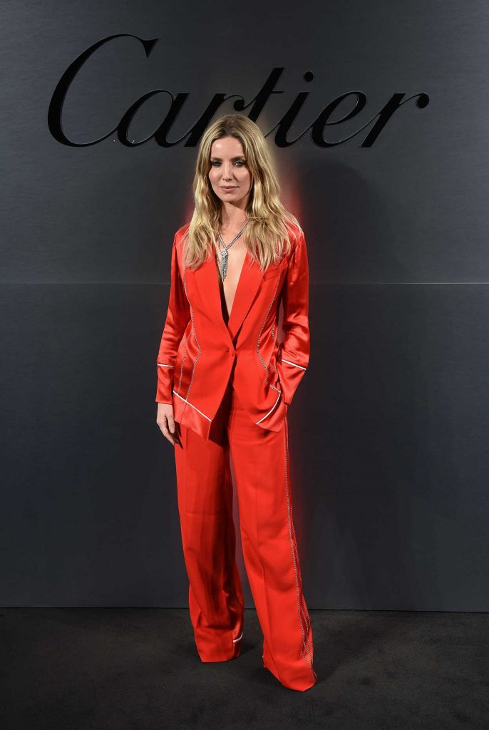 Annabelle Wallis at the Cartier's Bold and Fearless Celebration in San Francisco 04/05/2018-1
