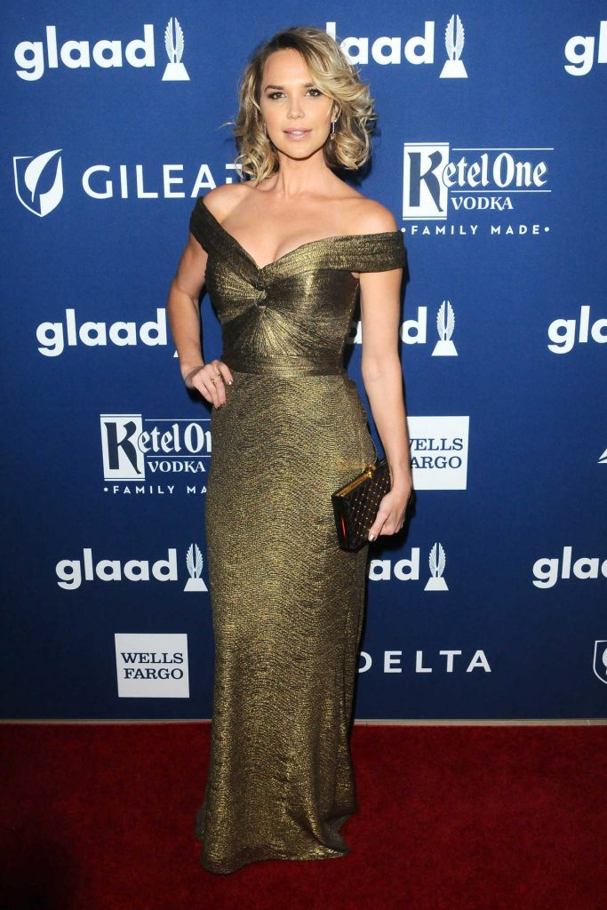 Arielle Kebbel at the 29th Annual GLAAD Media Awards Rising Stars Luncheon in Beverly Hills 04/12/2018-2