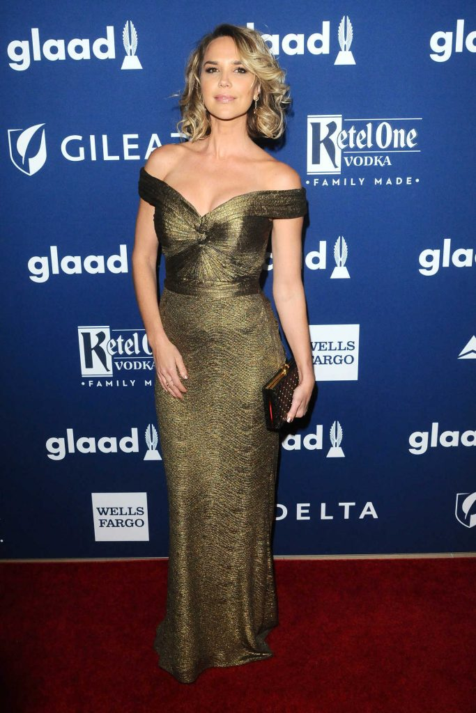 Arielle Kebbel at the 29th Annual GLAAD Media Awards Rising Stars Luncheon in Beverly Hills 04/12/2018-3