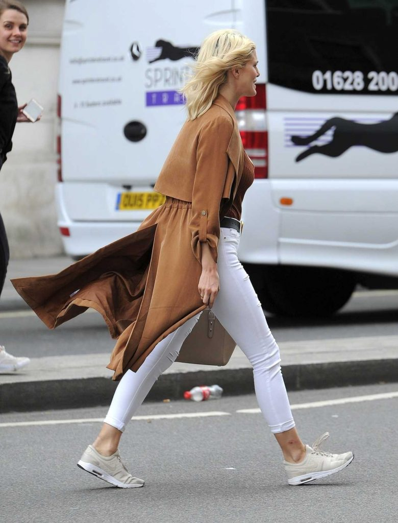 Ashley James Was Seen Out in St James in London 04/23/2018-3