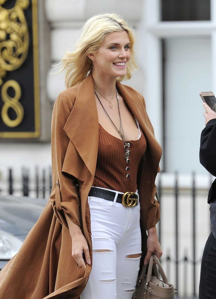 Ashley James Was Seen Out in St James in London 04/23/2018-5