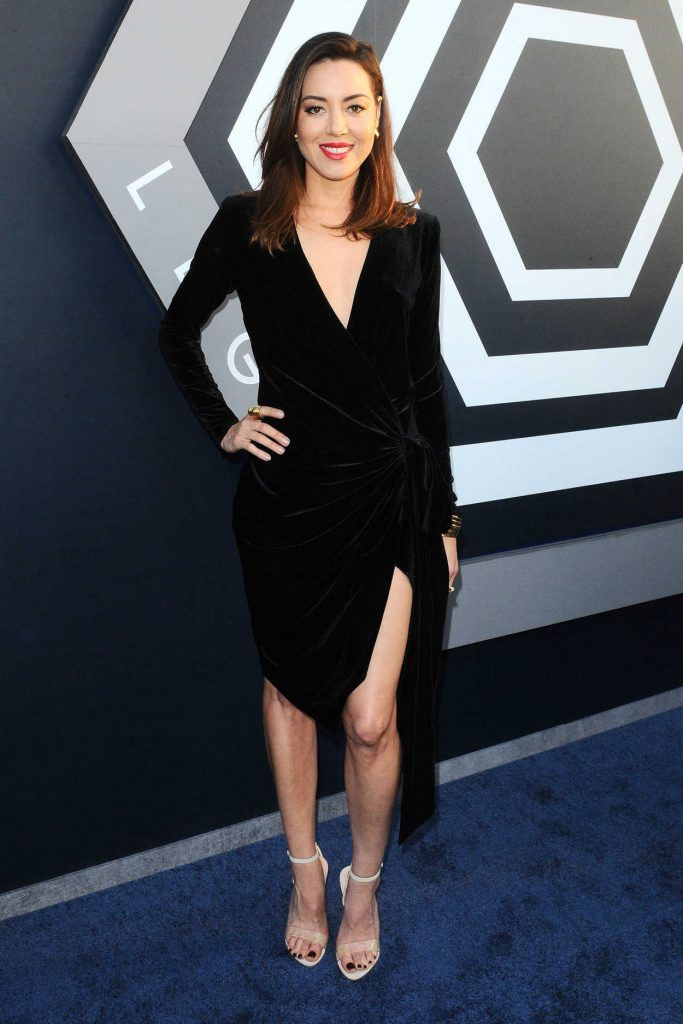 Aubrey Plaza at the Legion TV Show Season 2 Premiere in Los Angeles 04/02/2018-1