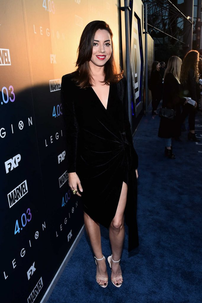 Aubrey Plaza at the Legion TV Show Season 2 Premiere in Los Angeles 04/02/2018-3