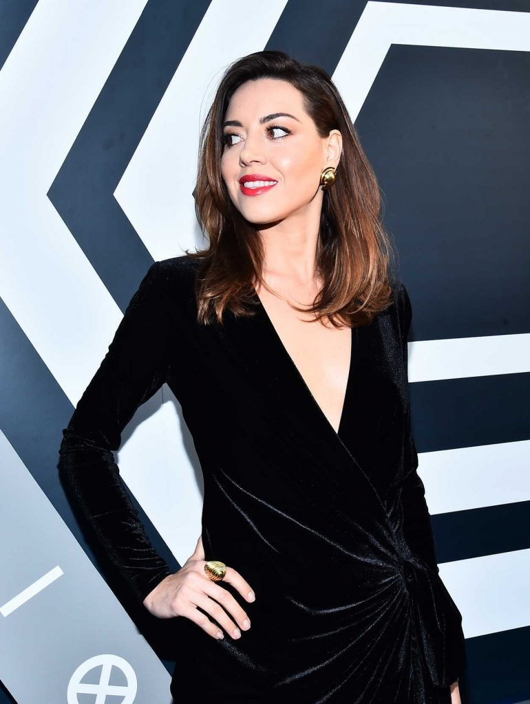Aubrey Plaza at the Legion TV Show Season 2 Premiere in Los Angeles 04/02/2018-4