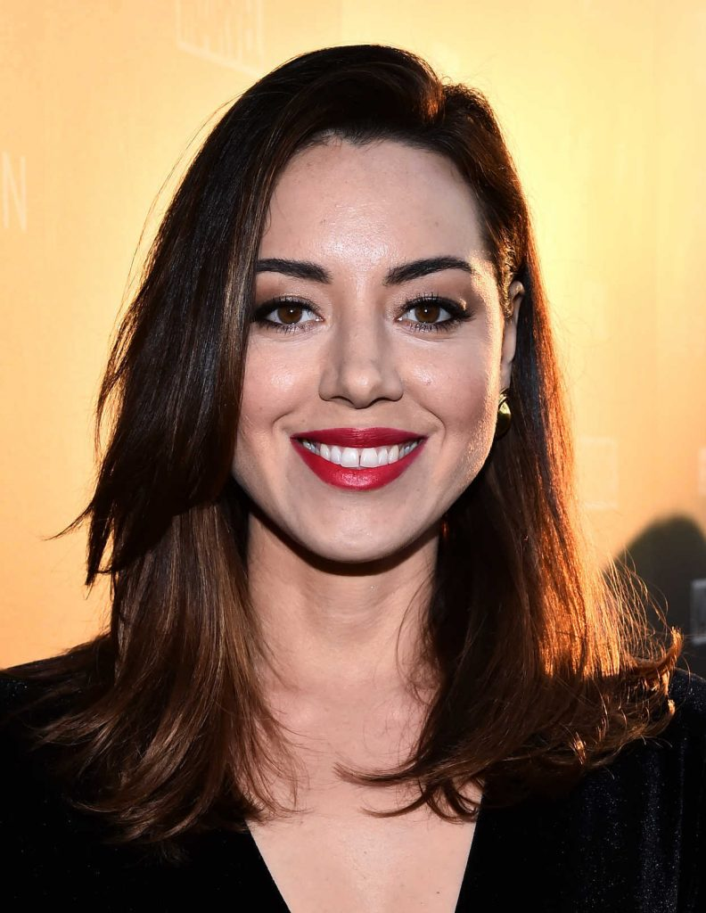 Aubrey Plaza at the Legion TV Show Season 2 Premiere in Los Angeles 04/02/2018-5