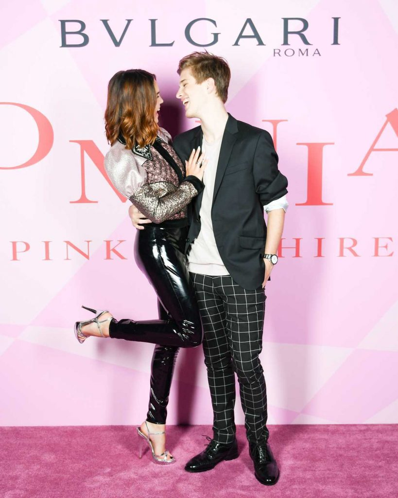 Bailee Madison at the Bvlgari Celebrates New Fragrance Omnia Pink Sapphire in Los Angeles 04/06/2018-5