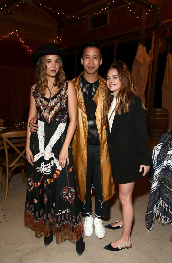 Britt Robertson at Dior Sauvage Party in Pioneertown 04/12/2018-4