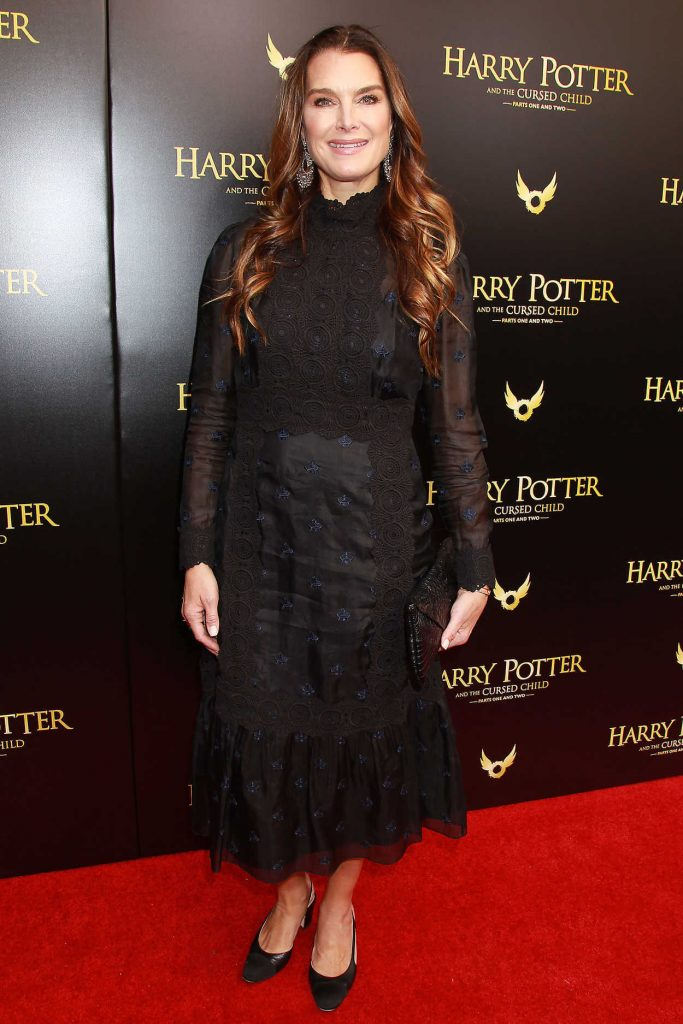 Brooke Shields at Harry Potter and the Cursed Child Broadway Opening Night at the Lyric Theatre in New York City 04/22/2018-1