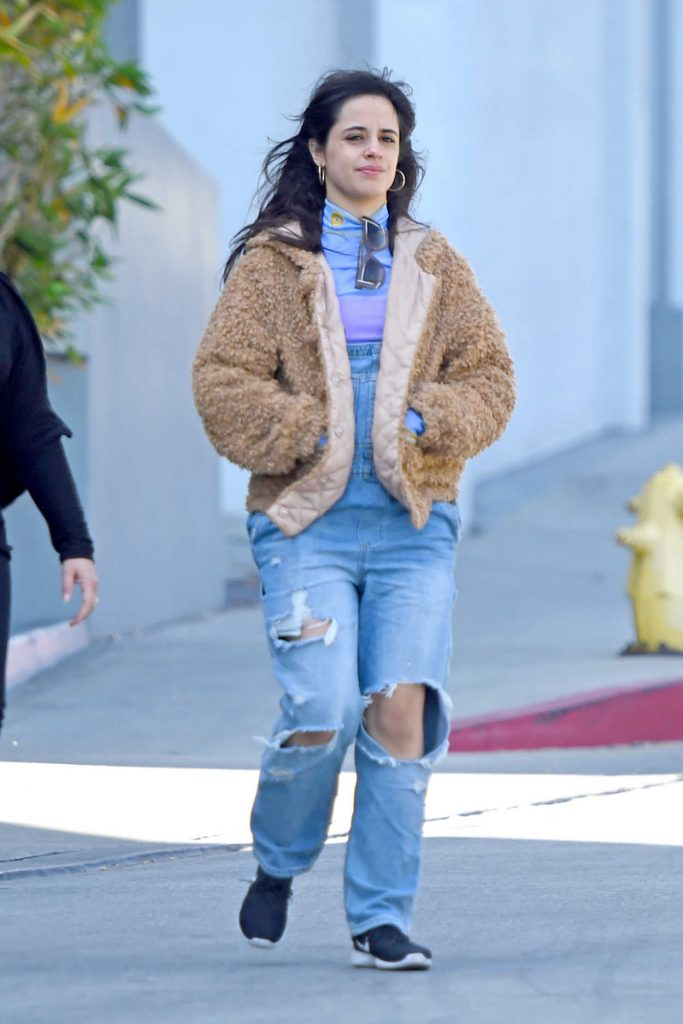 Camila Cabello Arrives at the Italian Restaurant Obica in West Hollywood 04/16/2018-2