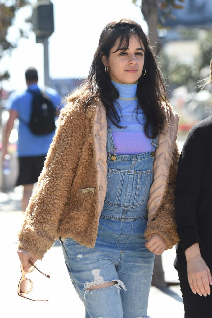 Camila Cabello Arrives at the Italian Restaurant Obica in West Hollywood 04/16/2018-5
