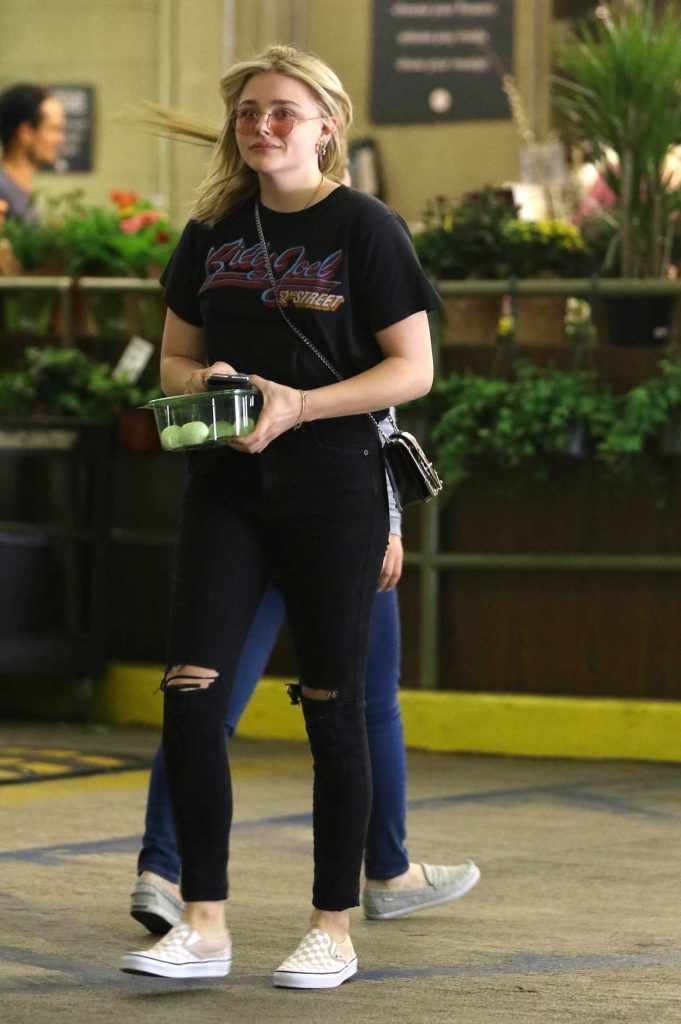Chloe Moretz Goes Grocery Shopping at Whole Foods in LA 04/12/2018-3