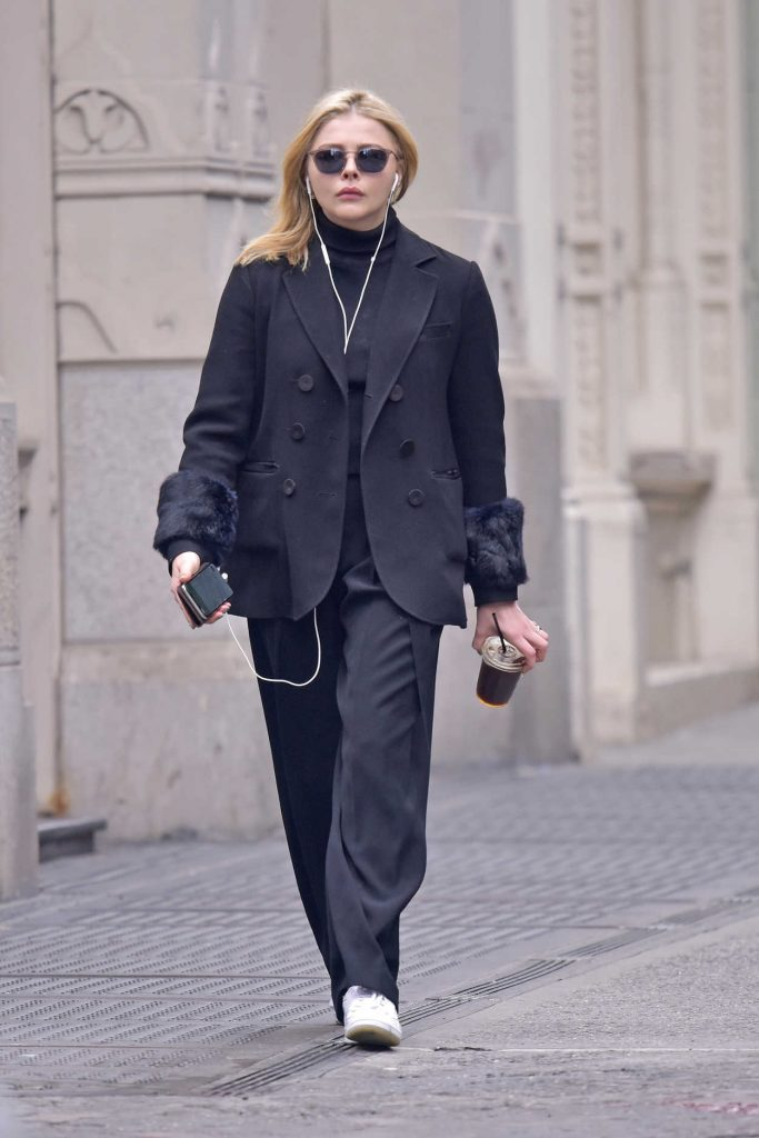Chloe Moretz Was Seen Out in Manhattan's Soho in New York 04/19/2018-1