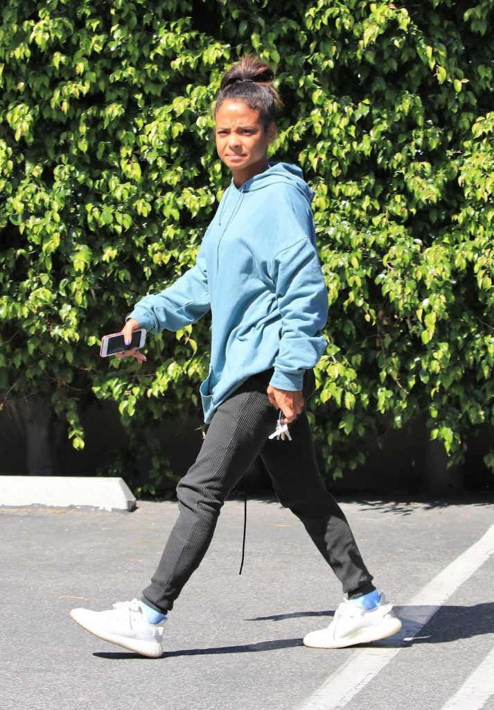 Christina Milian Was Seen Out in Studio City 04/18/2018-2