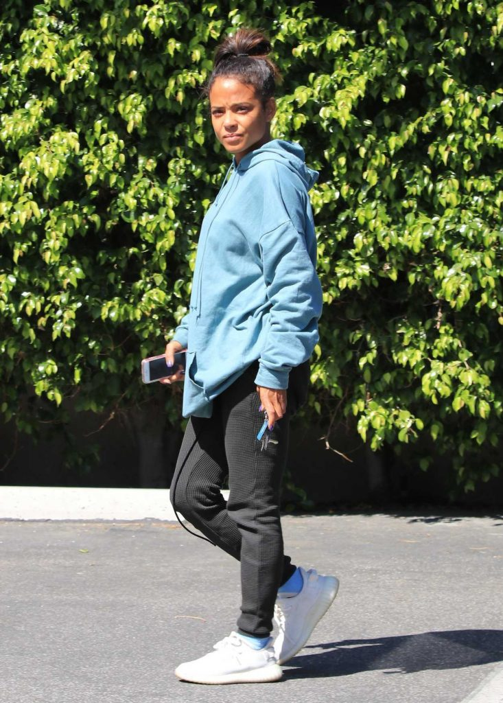 Christina Milian Was Seen Out in Studio City 04/18/2018-3