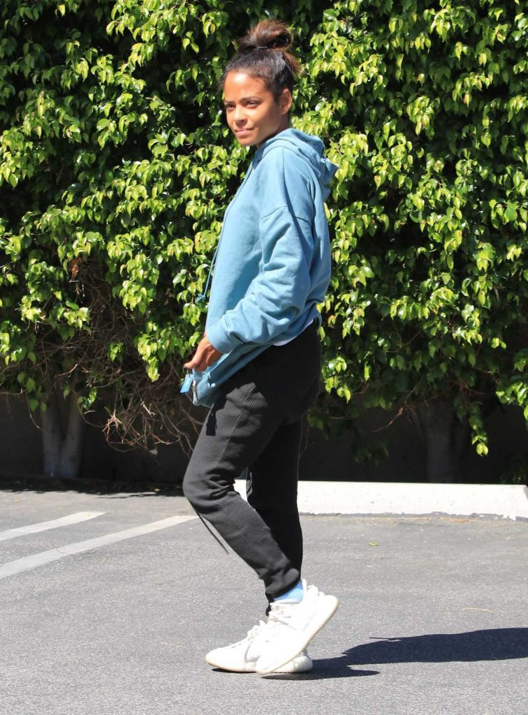 Christina Milian Was Seen Out in Studio City 04/18/2018-4