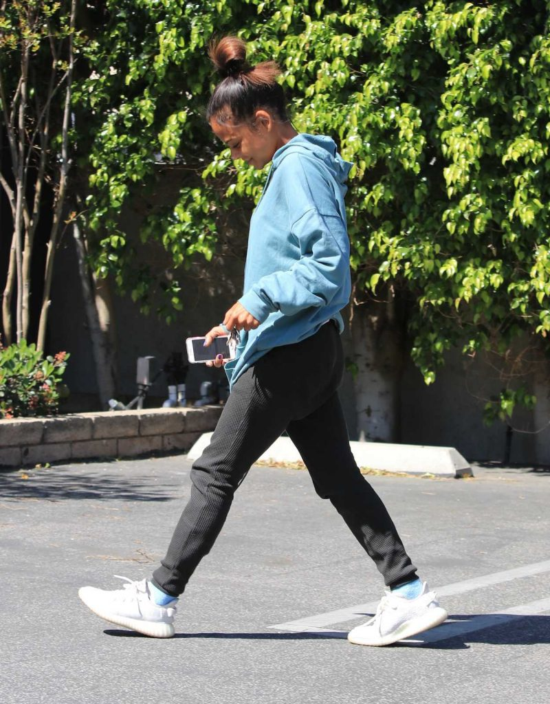 Christina Milian Was Seen Out in Studio City 04/18/2018-5