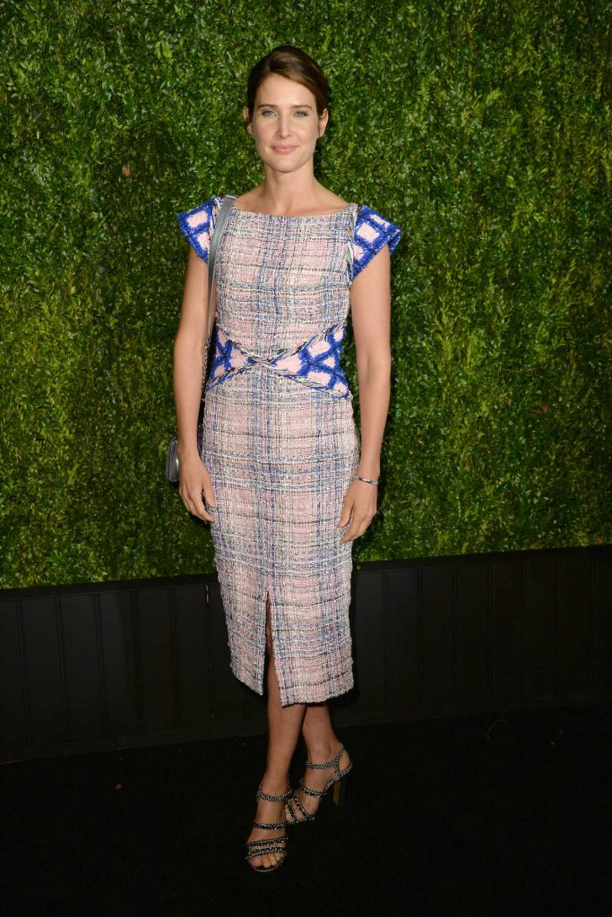 Cobie Smulders Attends the Chanel Tribeca Film Festival Artists Dinner at Balthazar in New York 04/23/2018-1