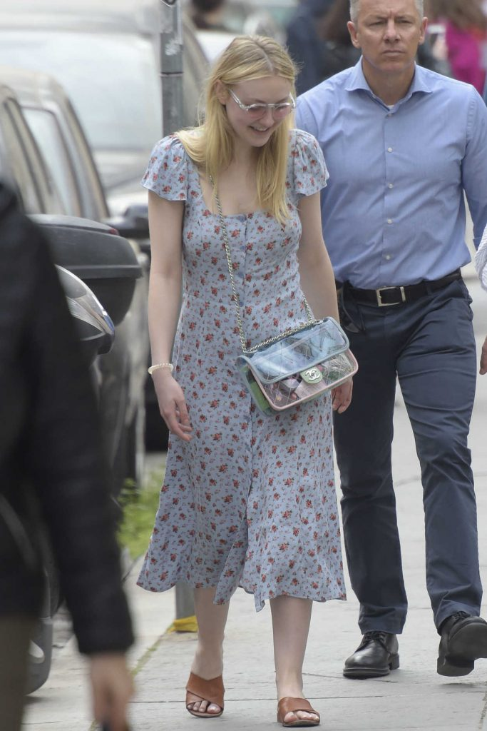 Dakota Fanning Was Spotted Out in Rome 04/16/2018-1