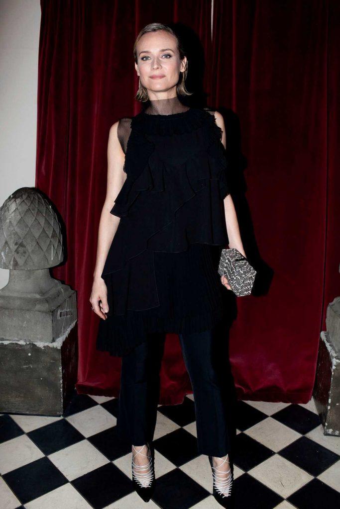 Diane Kruger at Micaela Erlanger How to Accessorize Book Dinner Celebration in New York 04/03/2018-1