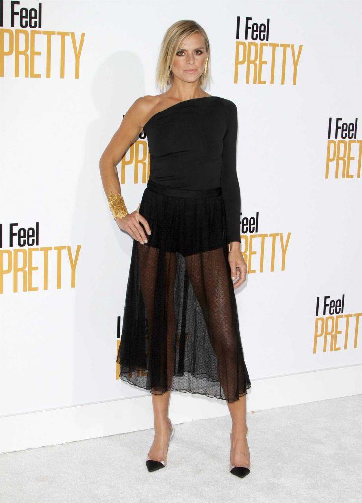Eliza Coupe at I Feel Pretty Premiere in Los Angeles 04/17/2018-1