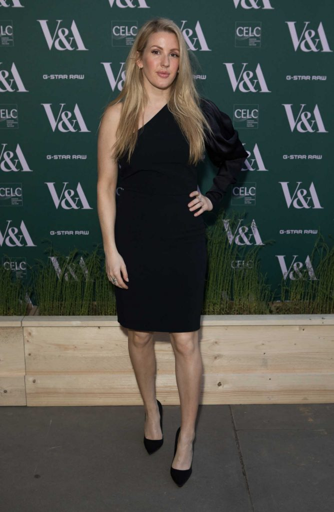 Ellie Goulding at the Fashioned for Nature Exhibition VIP Preview in London 04/18/2018-1