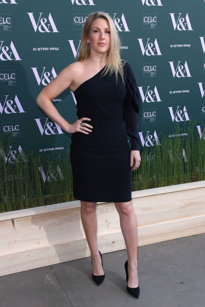 Ellie Goulding at the Fashioned for Nature Exhibition VIP Preview in London 04/18/2018-2
