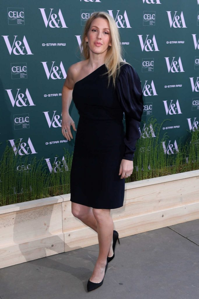 Ellie Goulding at the Fashioned for Nature Exhibition VIP Preview in London 04/18/2018-3