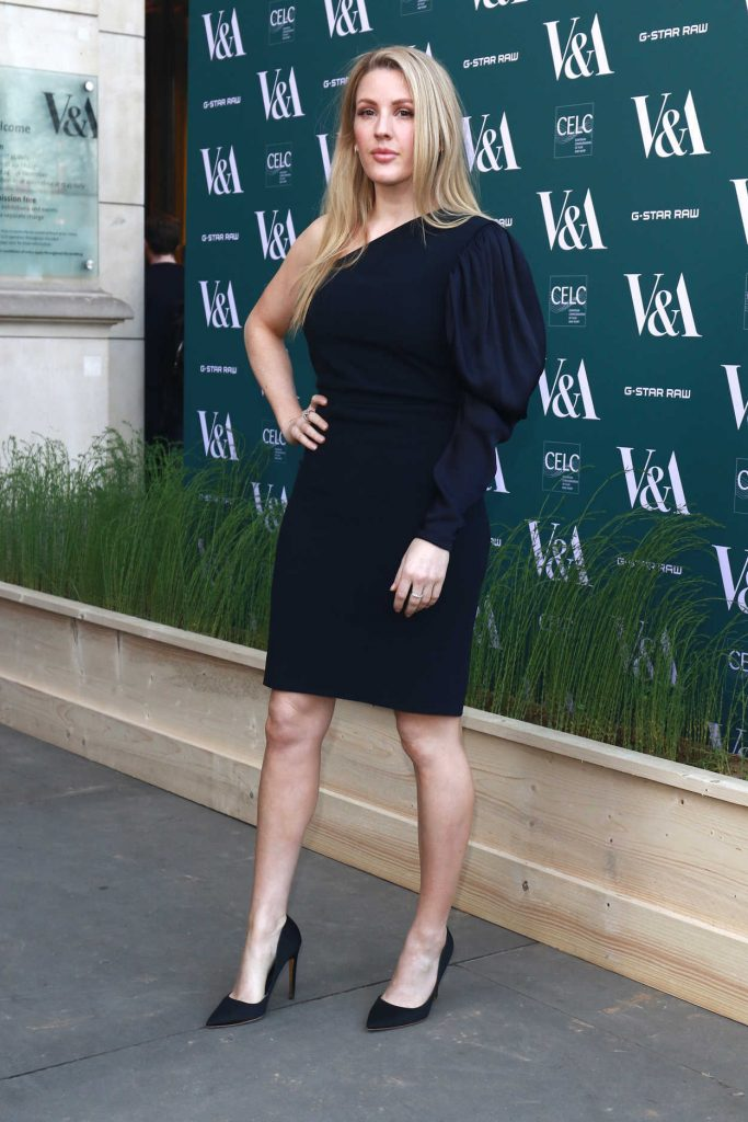 Ellie Goulding at the Fashioned for Nature Exhibition VIP Preview in London 04/18/2018-4