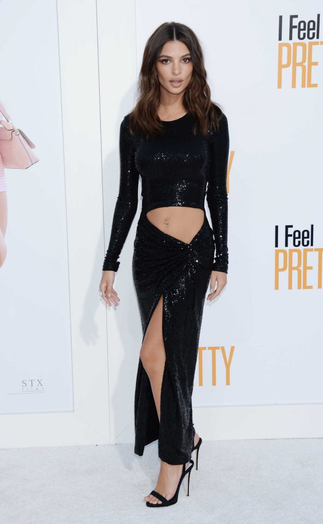 Emily Ratajkowski at I Feel Pretty Premiere in Los Angeles 04/17/2018-1