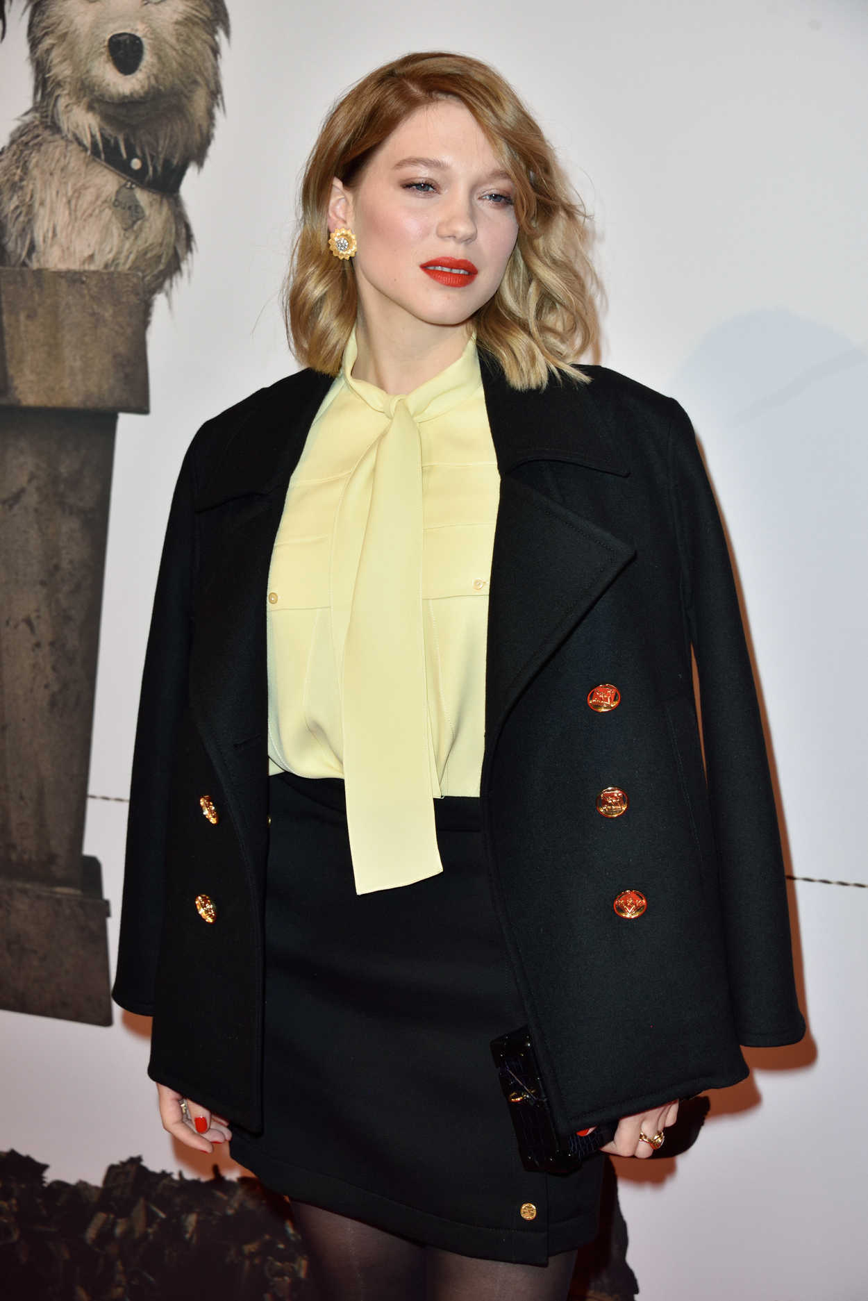 Lea Seydoux Attends Is...