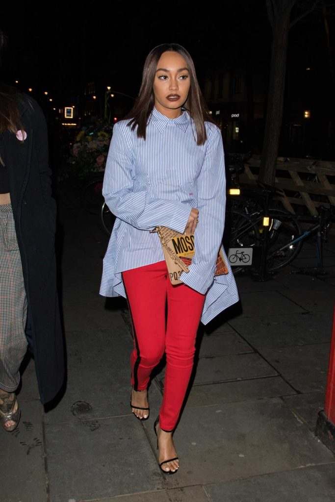 Leigh-Anne Pinnock Leaves Cantina Laredo Restaurant in Los Angeles 03/31/2018-1