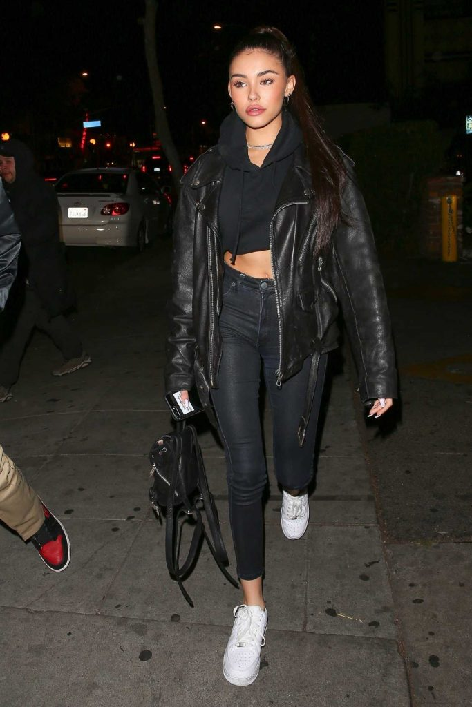 Madison Beer Leaves Dave Chappelle's Secret Show in West Hollywood 04/19/2018-1