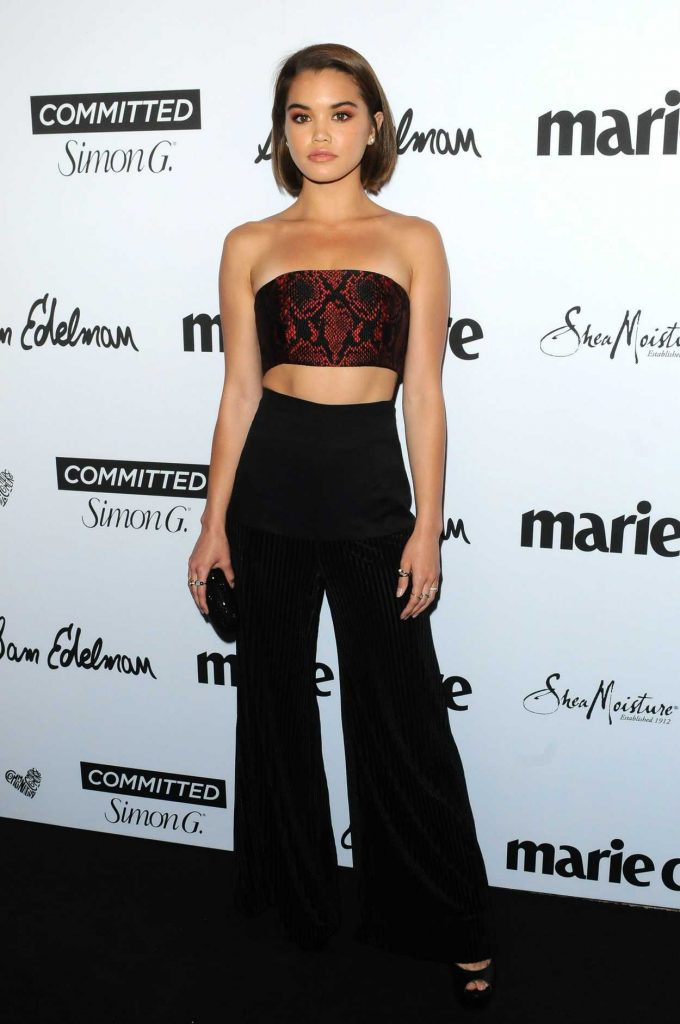 Paris Berelc at the 5th Annual Marie Claire Fresh Faces Party in Los Angeles 04/27/2018-1