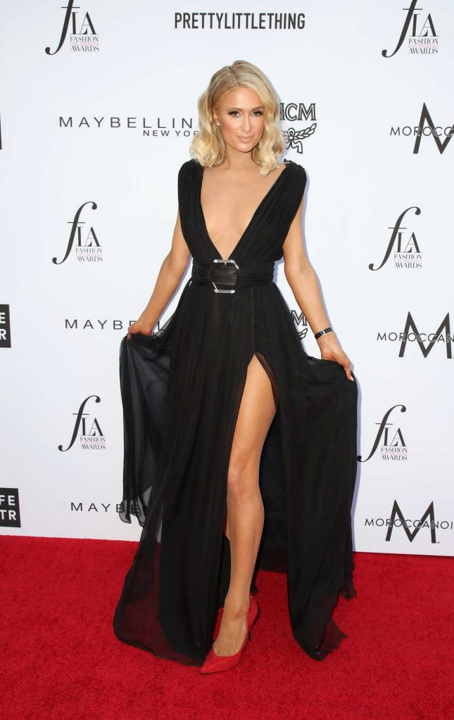 Paris Hilton at the Daily Front Row Fashion Awards in Los Angeles 04/08/2018-1