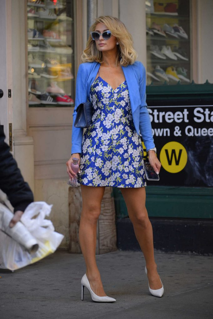 Paris Hilton Was Seen Out in New York City 04/22/2018-1