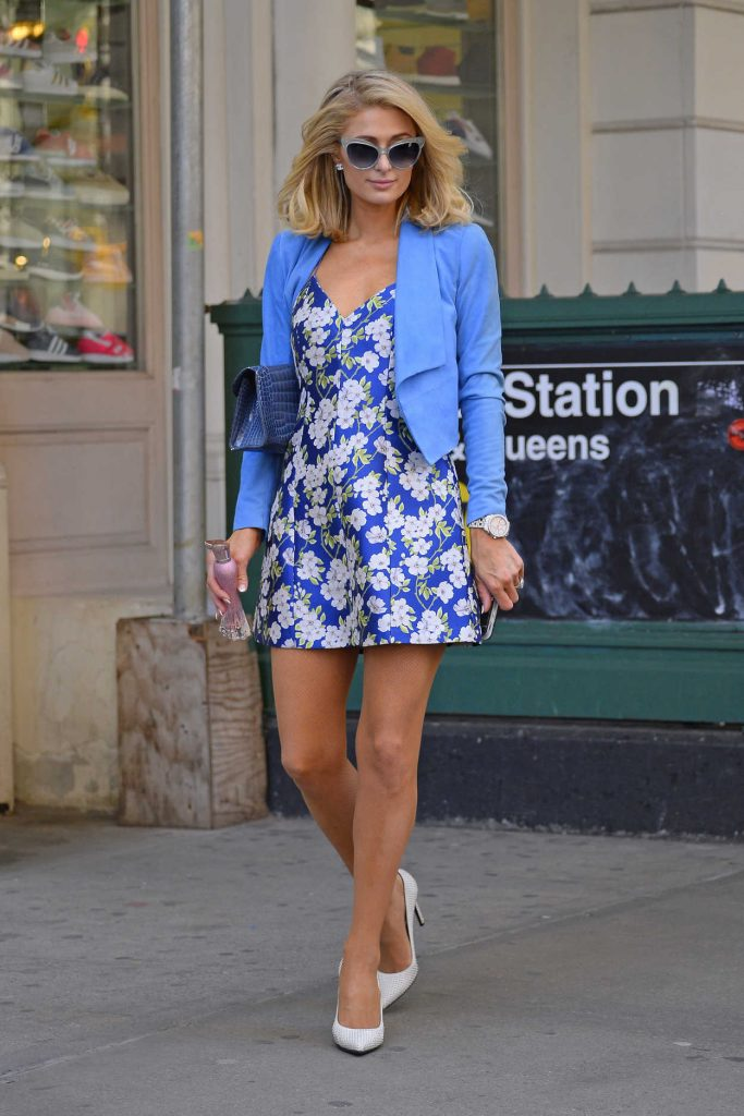 Paris Hilton Was Seen Out in New York City 04/22/2018-2
