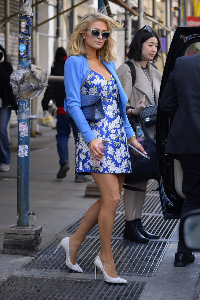 Paris Hilton Was Seen Out in New York City 04/22/2018-5