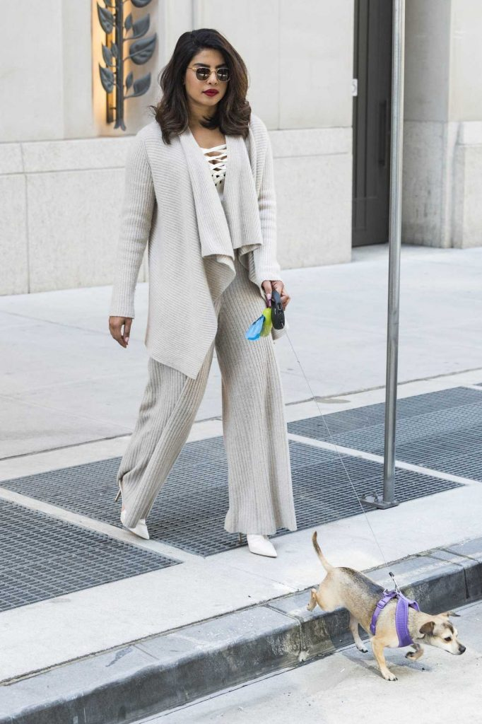 Priyanka Chopra Leaves Her Hotel in New York City 04/23/2018-4