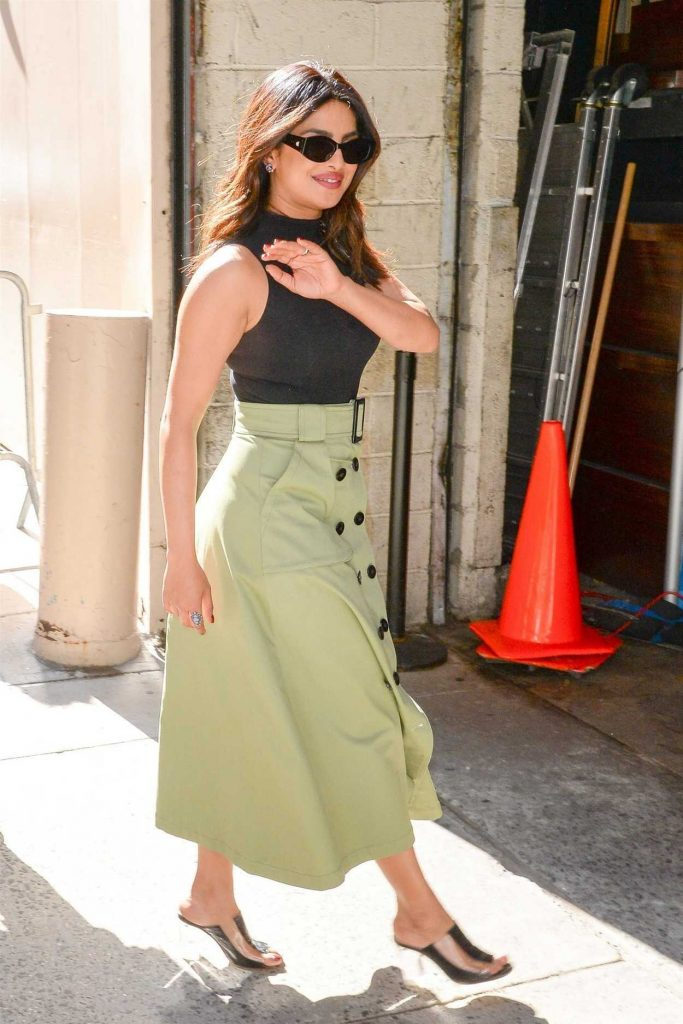 Priyanka Chopra Leaves the Live with Kelly and Ryan Show in New York 04/26/2018-2