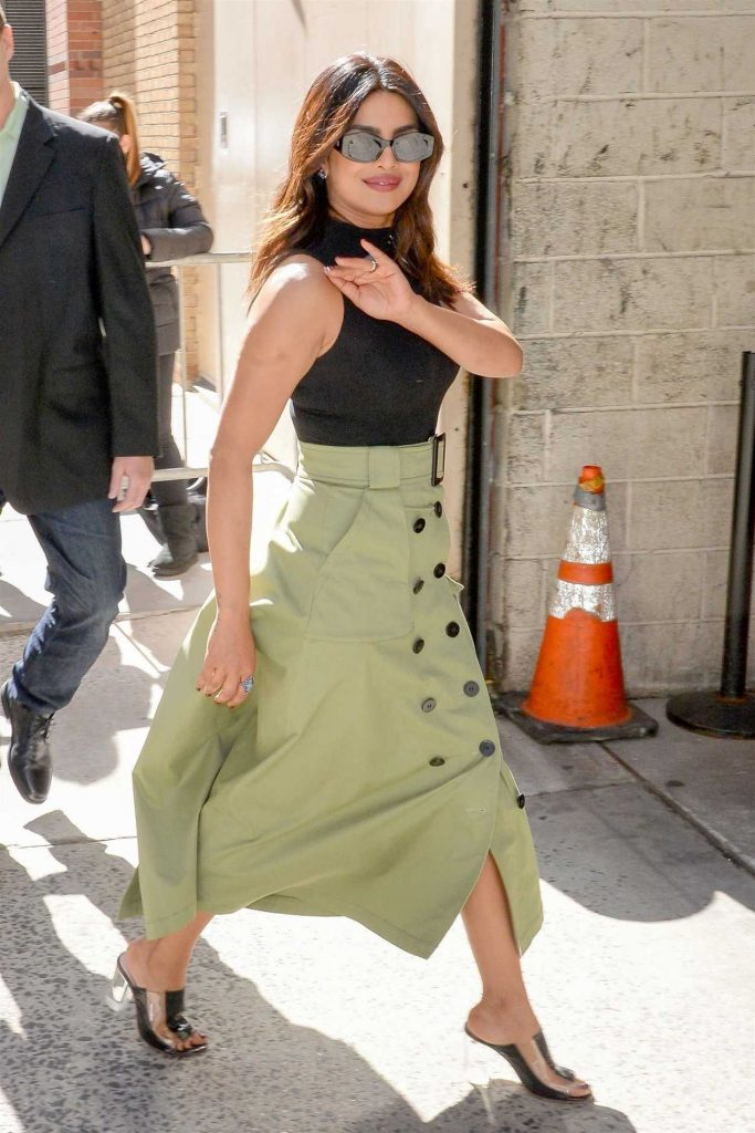 Priyanka Chopra Leaves the Live with Kelly and Ryan Show in New York 04/26/2018-3