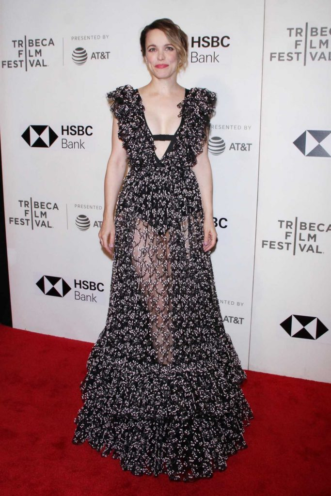 Rachel McAdams at Disobedience Premiere During the Tribeca Film Festival in New York City 04/24/2018-1