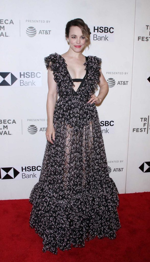 Rachel McAdams at Disobedience Premiere During the Tribeca Film Festival in New York City 04/24/2018-2
