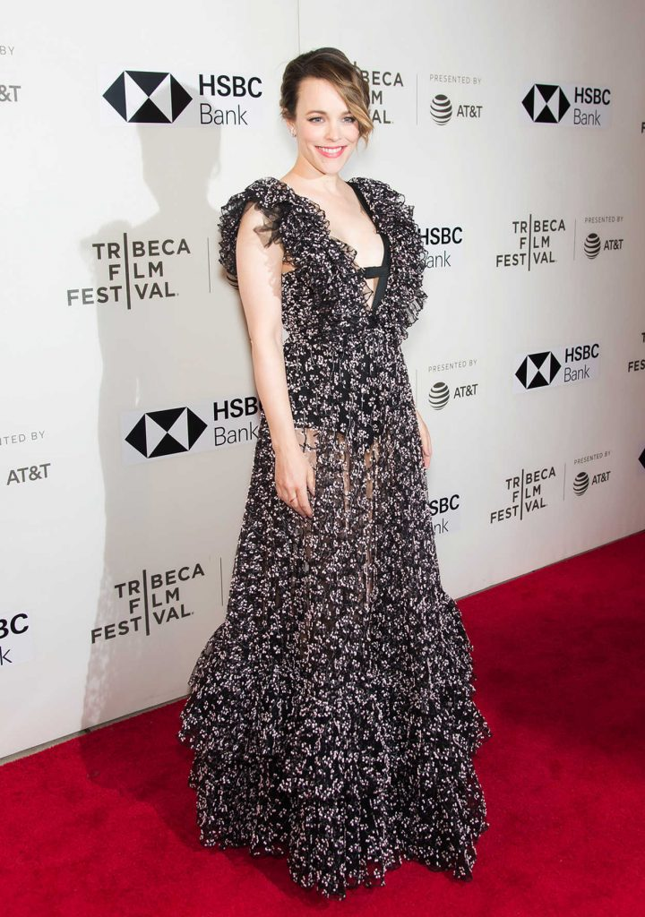 Rachel McAdams at Disobedience Premiere During the Tribeca Film Festival in New York City 04/24/2018-3