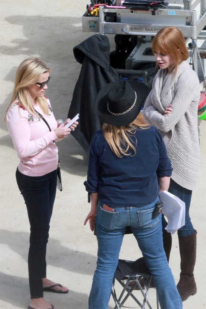 Reese Witherspoon on the Set of Big Little Lies in Monterey 04/12/2018-4