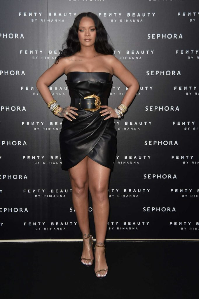 Rihanna at the Fenty Beauty Line by Sephora Launch in Milan 04/05/2018-1