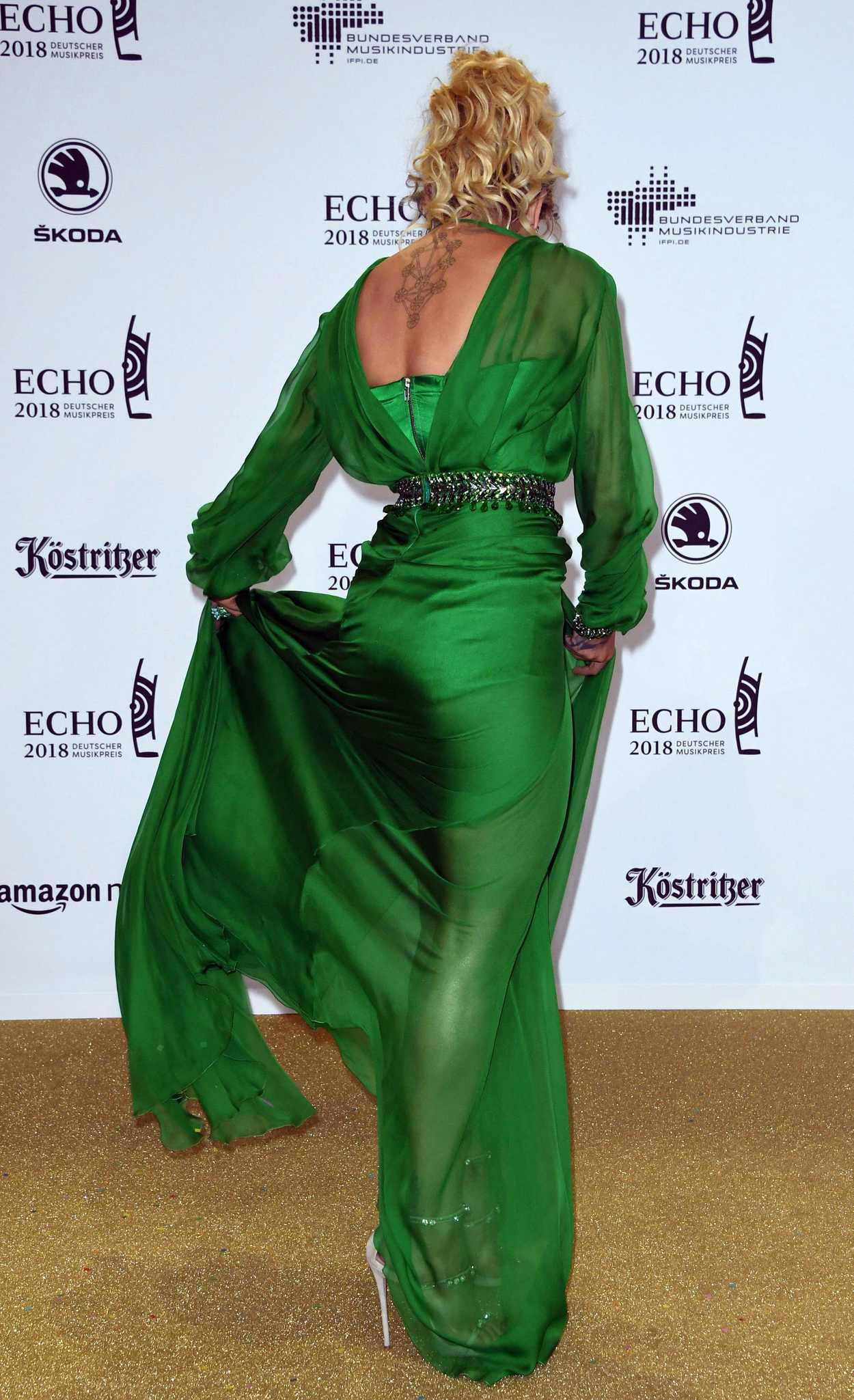 Rita Ora At Echo Music Awards In Berlin