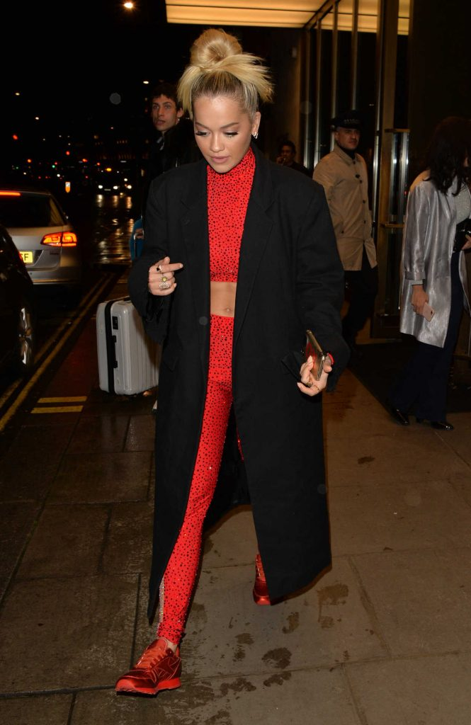 Rita Ora Night Out in Battersea in West London 04/27/2018-1