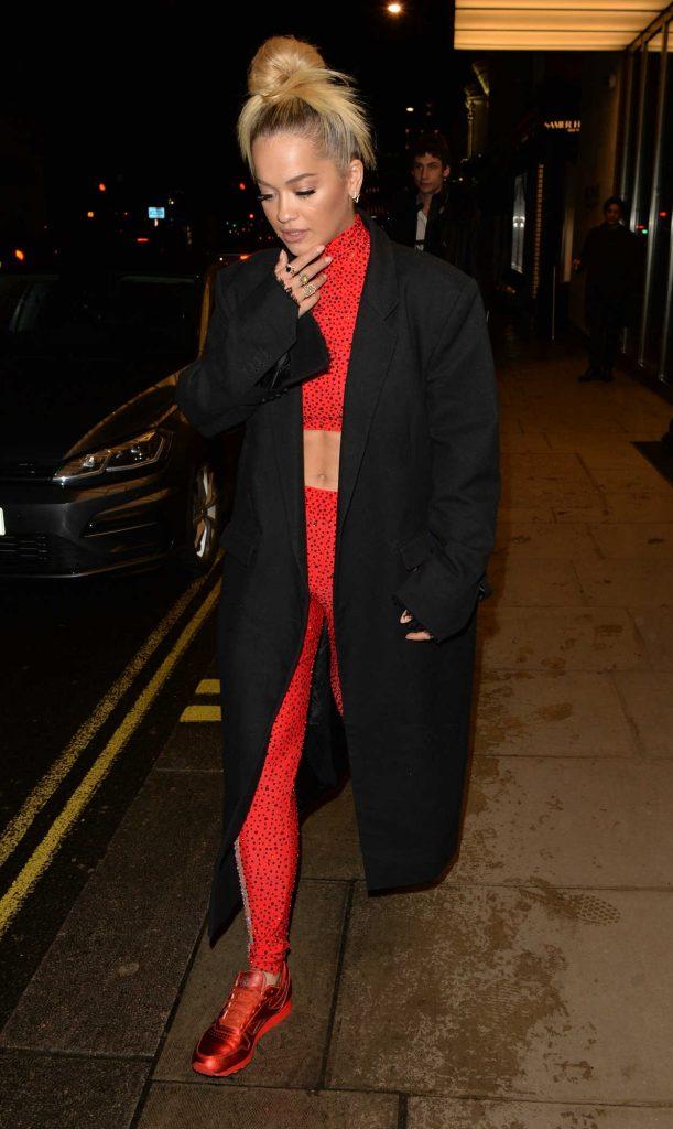 Rita Ora Night Out in Battersea in West London 04/27/2018-2