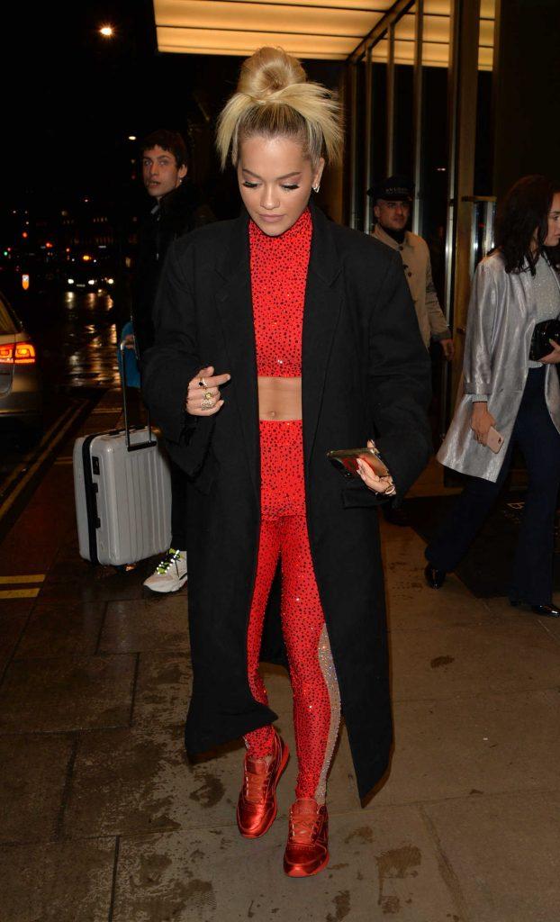 Rita Ora Night Out in Battersea in West London 04/27/2018-3