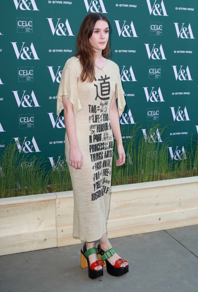 Sai Bennett at the Fashioned for Nature Exhibition VIP Preview in London 04/18/2018-3